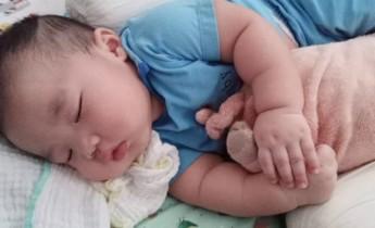 lama bayi tidur