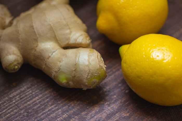 Jahe Dan Lemon
