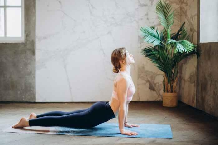 Pose Yoga Cobra